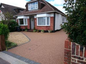 red resin bound drive