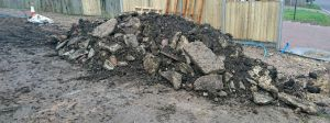 driveway waste material
