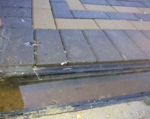 poor block paving installation