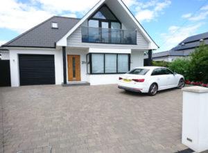 modern block paving driveway bournemouth