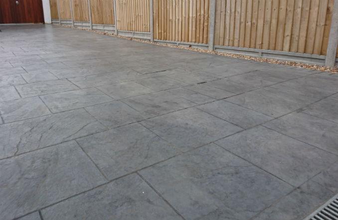 imprinted concrete driveway bournemouth