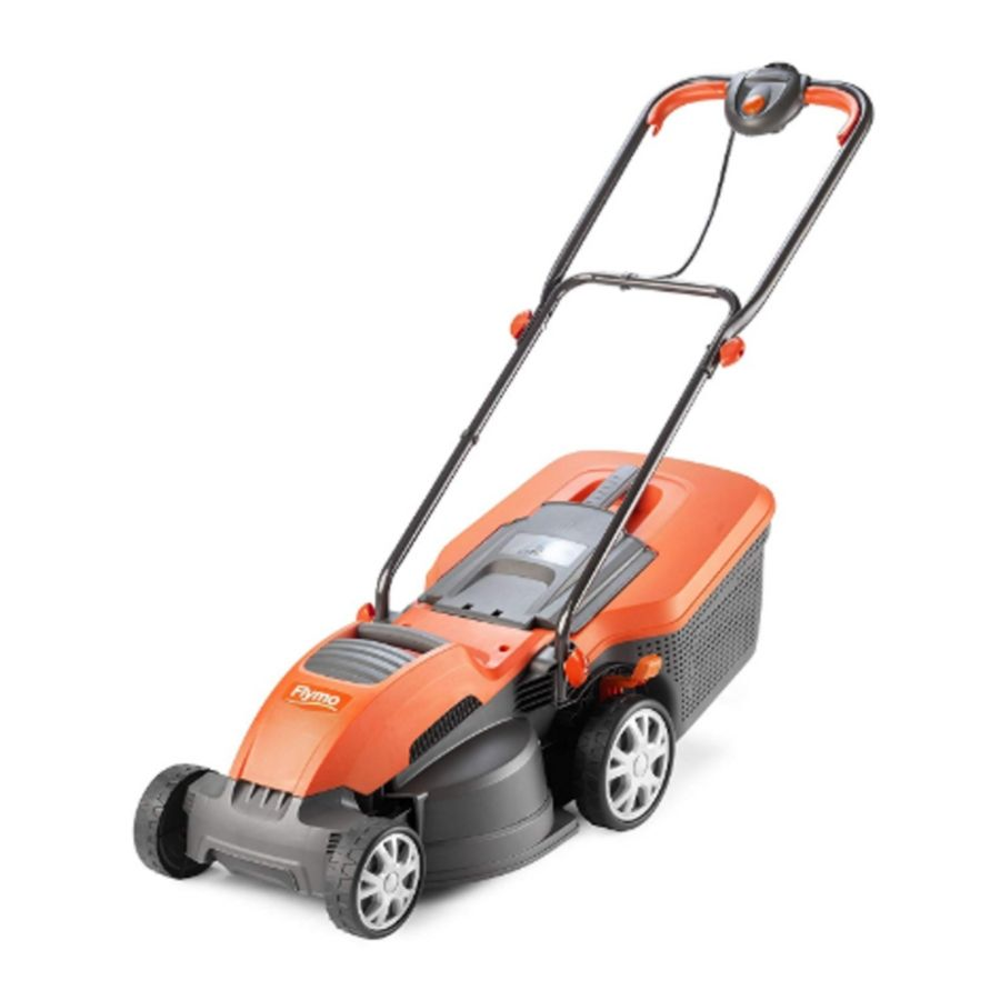 flymo speedi mo electric lawn mower