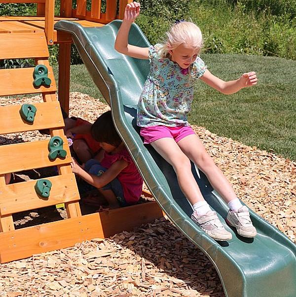 Kidkraft Ainsley Climbing Frame slide