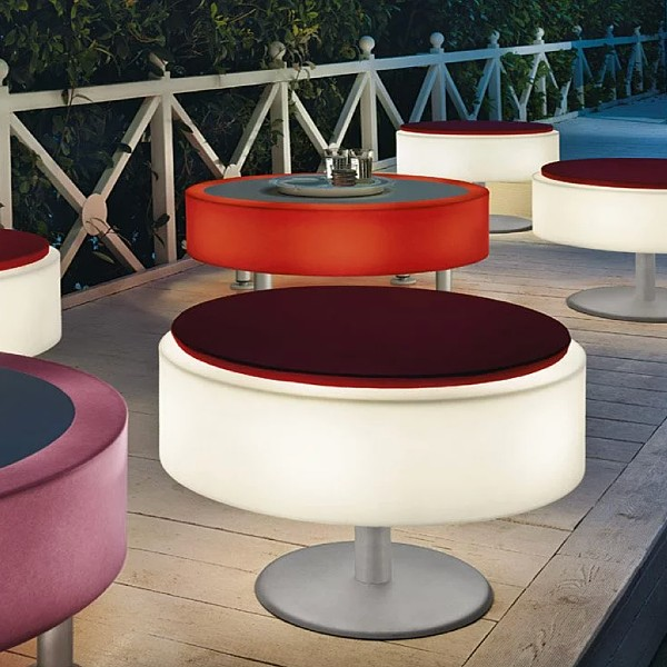 Atollo Pouf Outdoor Floor Lamp by Modoluce