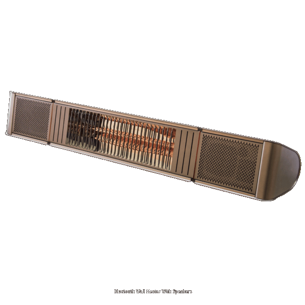 Bluetooth Wall Heater With Speakers