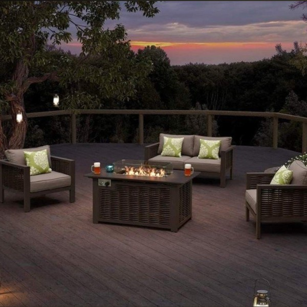 Dallas Fire Pit Set