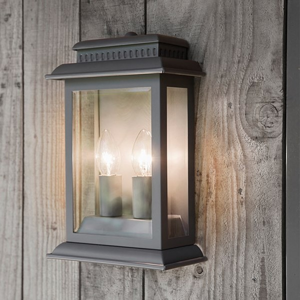 Garden Trading Belvedere Outdoor Light in Charcoal