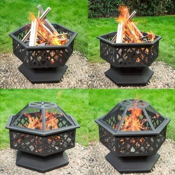 Hexagonal Fire pit