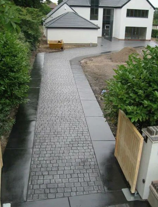 driveway edging ideas Farrelly Construction