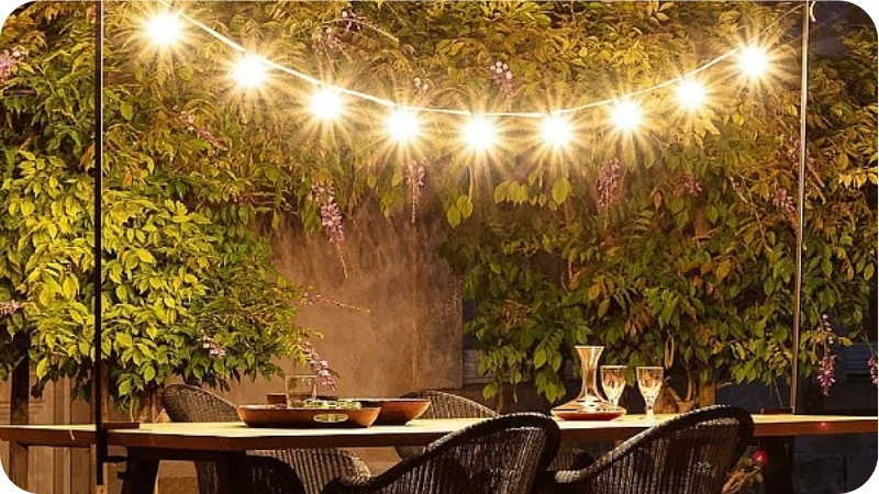 patio ideas for 2021 lighting