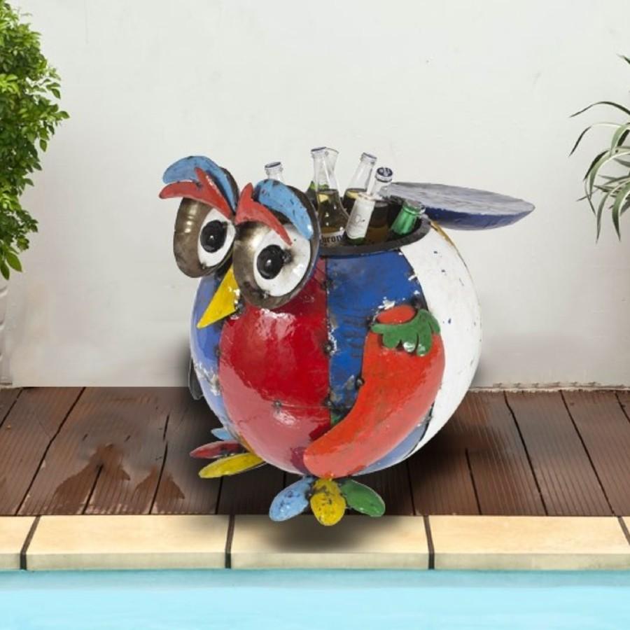 Barnyard Owl Beverage Tub