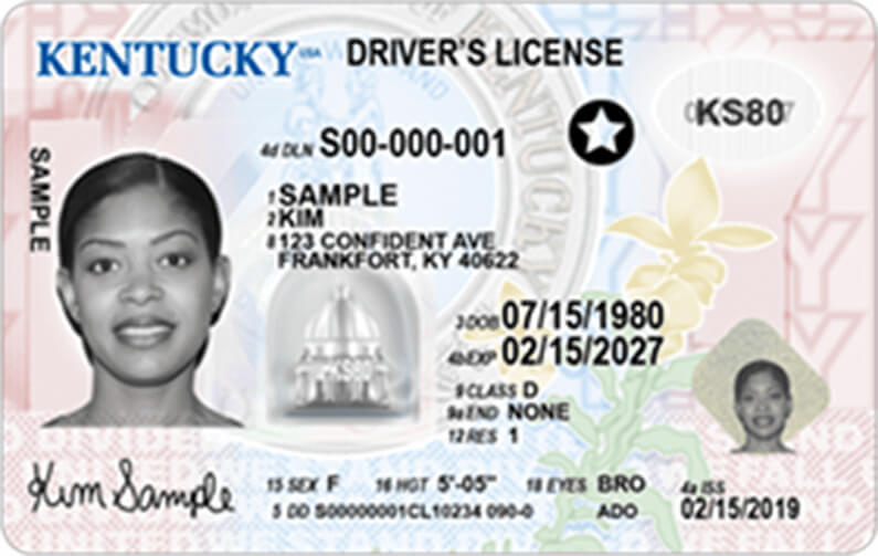 Kentucky Driver S License Application