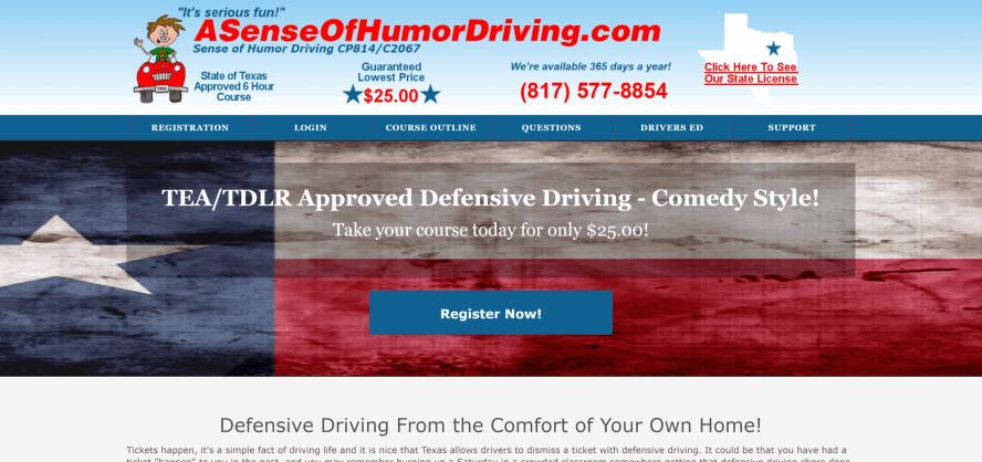 A Sense of Humor Driving