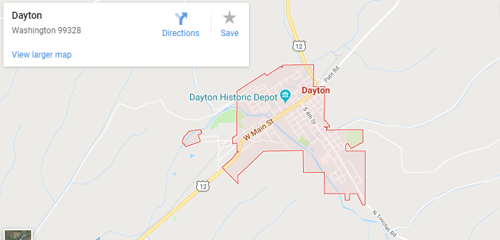Maps of Dayton, mapquest, google, yahoo, driving directions