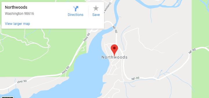 Maps of Northwoods, mapquest, google, yahoo, bing, driving directions