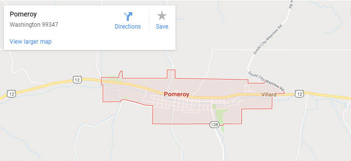 Maps of Pomeroy, mapquest, google, yahoo, bing, driving directions