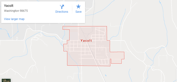 Maps of Yacolt, mapquest, google, yahoo, driving directions