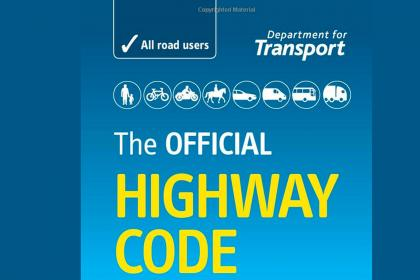 Highway Code, van driver, freelance courier