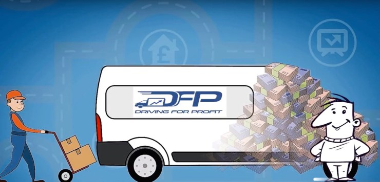 driving for profit, freelance courier, parcel delivery, courier, van