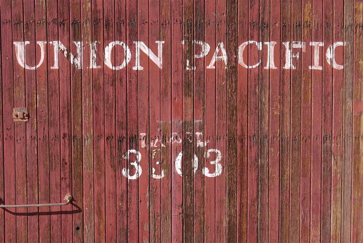Boxcars used to be wooden.