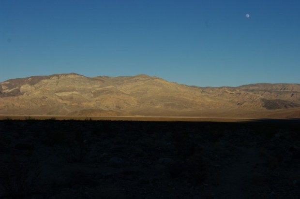 Sunset across Panamint Valley