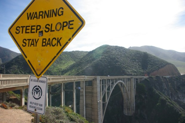 The Bixby Creek/Canyon Bridge.