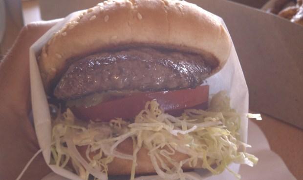 Jalama Burger, tastes better than my phone's white balance.