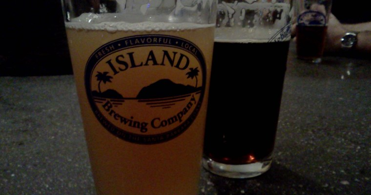Island Brewing Company: Camping with a Brew and a View in Carpinteria