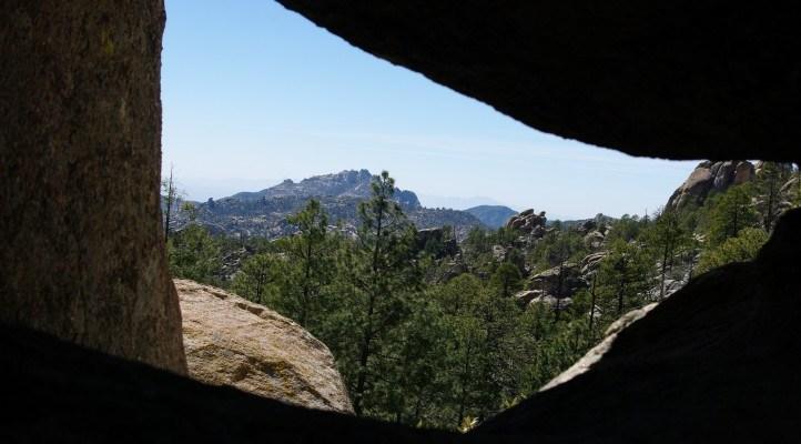 Wilderness of Rock Trail on Tucson's Mt. Lemmon