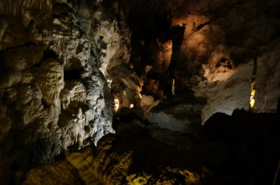Probably the clearest photo I took underground.