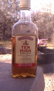 Ten High Kentucky Bourbon Whiskey.