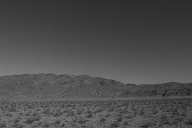 Panamint Valley, moon.