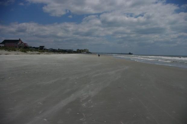 From Lisa: Folly Beach is huge.