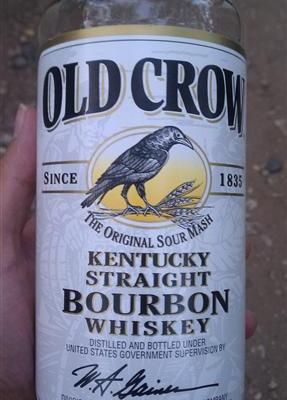 Old Crow Kentucky Straight Bourbon Whiskey
