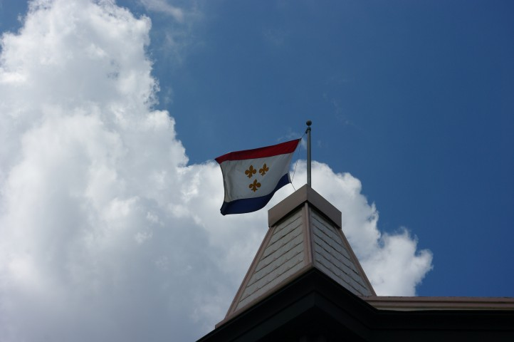 The New Orleans flag.