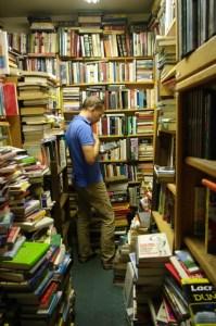 Browsing at Southwest Book Trader.