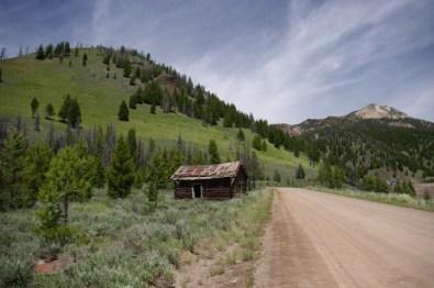 Bonanza cabin.