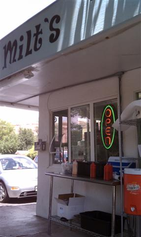 Milt's Stop & Eat, Moab.
