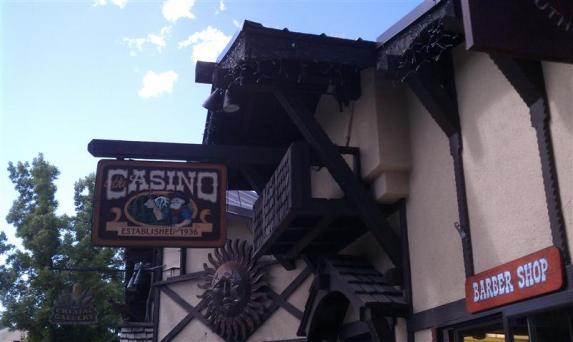 The Casino Bar, barber adjacent.