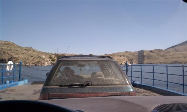 Every driving day should start with a ferry ride.