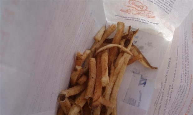 Dick's fries are some of the best ever.