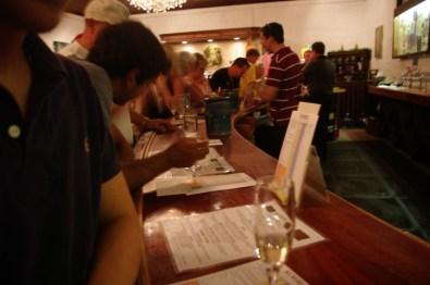 Korbel's tasting room.