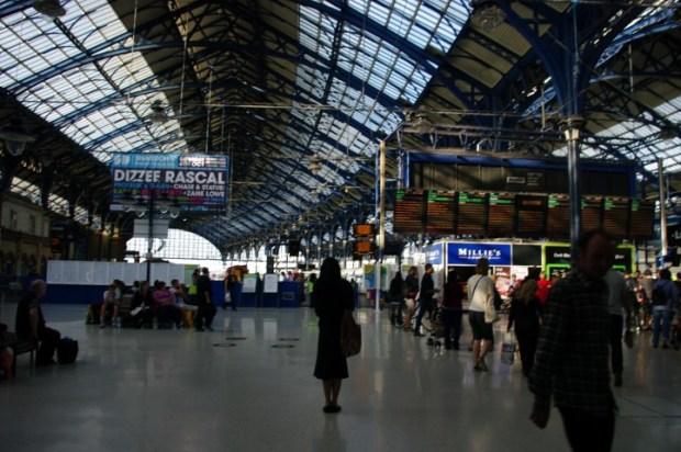 Brighton train station.