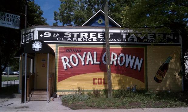 The Dorman, a great neighborhood bar in Indy.