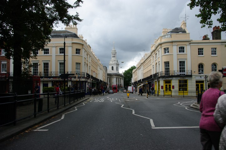 One of the main streets.