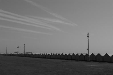 Hove beach-side shanties.