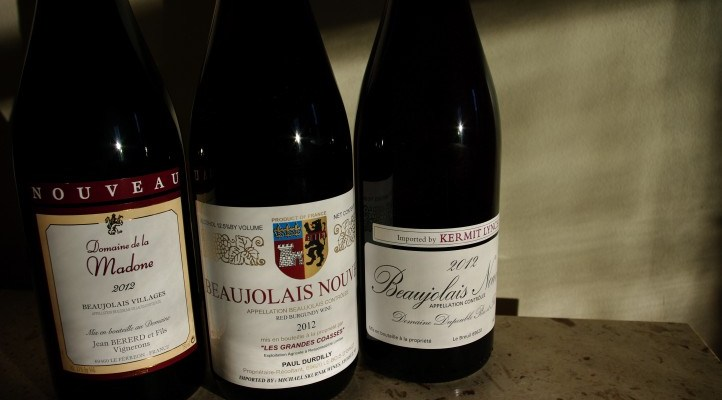 Hooray for Beaujolais Nouveau and Red Feet Wine Market!