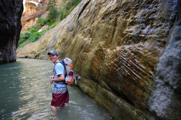 Paul in the Narrows.