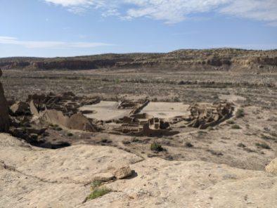 Pueblo Bonito site from above