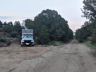 Camping at Buena Vista - a semi official spot.